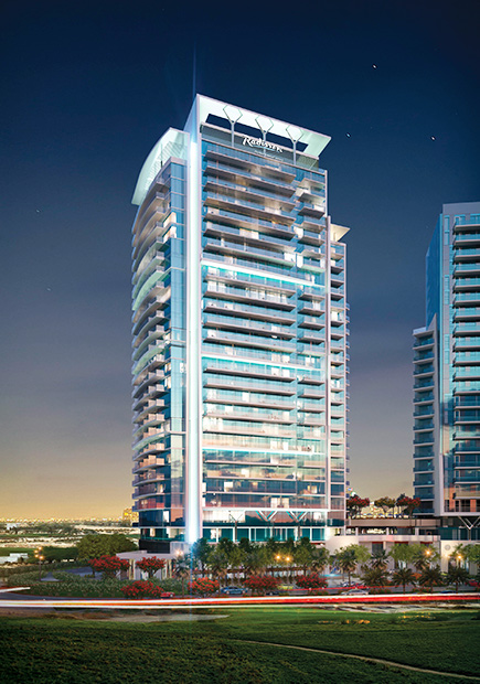 Luxury Project Radisson Dubai Damac Hills Real Estate Professionals